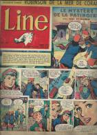 LINE   N° 43   -  DARGAUD  1956 - MAD ET GLORIA - Andere Magazine