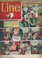 LINE   N° 52   -  DARGAUD  1956 - MAD ET GLORIA - Revistas Y Periódicos