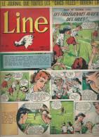 LINE   N° 53   -  DARGAUD  1956 - MAD ET GLORIA - Revistas Y Periódicos