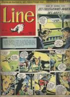 LINE   N° 55   -  DARGAUD  1956 - MAD ET GLORIA - Revistas Y Periódicos