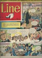 LINE   N° 73   -  DARGAUD  1956 - MAD ET GLORIA - Revistas Y Periódicos