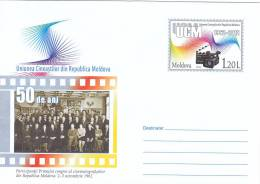 CINEMA,First Congress Of CINEMATOGRAFISTILOR IN MOLDOVA 2012 STATIONERY COVER,UNUSED, MOLDOVA - Cinéma