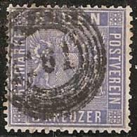 ALEMANIA 1860/61 (BADEN) - Yvert #10 - VFU - Baden