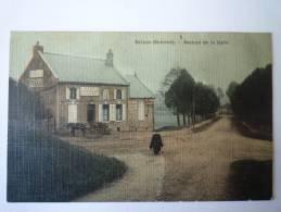 SALEUX  (Somme)  :  Avenue De La  GARE  (Carte  Toilée Couleur) - Autres Communes