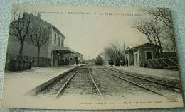 Montsegur - La Gare - Arrivée Du Train - Autres Communes