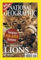 National Géographic  -  N° 21  - La Côte Sauvage Du Chili Marco Paulo II Lions D'asie Pays De Galles Pearl Harbor Djenne - Géographie