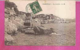 MARSEILLE   -   *  LA CORNICHE  *    -    Editeur : .L.M.  N° / - Château D'If, Frioul, Iles ...