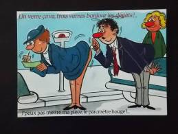 Carte Postale Humoristique Illustrateur ALEXANDRE Série Un Verre ça Va 915/2 Etat Neuf - Alexandre