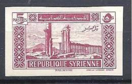 SYRIE   N� 249 NON DENTELE  NEUF (*) TTB