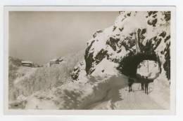 88 - La Schlucht En Hiver       Le Tunel - France