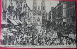 Dep 45 , Cpa ORLEANS , 30, 400è Aniversaire , Défilé Du Cortège Religieux Rue Jeanne D´Arc  (2.68) - Orleans