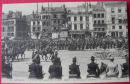 Dep 45 , Cpa ORLEANS ,9 , Fetes  De Jeanne D´Arc 1909 , La Cérémonie Militaire , L´Artillerie , LL   (2.72) - Orleans