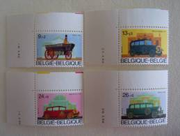 Belgie Belgique 1986 Datum Date  Oude Anciens Auto COB 2232-2235 MNH ** - Coins Datés