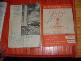 1952 HELSINKI OLYMPIC GAMES, Legend Jumper George BROWN Autograph. - Handtekening