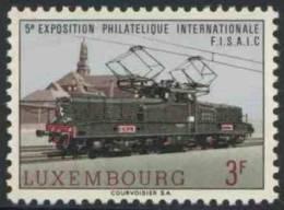 Luxemburg Luxembourg 1966 Mi 736 YT 687 ** Class 3600 Electric Locomotive /  Elektrische B'B'-Lokomotive BR 3600 Der CFL - Treinen