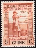 GUINÉ-1938,  « Império Colonial Português », 5c.   D. 13 1/3x13    ** MNH  Afinsa  Nº 224 - Portuguese Guinea