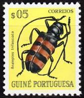 GUINÉ-1953, Insectos Da Guiné,  $05  D. 11 1/2  ** MNH  Afinsa  Nº 270 - Portuguese Guinea