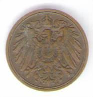 GERMANIA 1 PFENNIG 1911 - [ 2] 1871-1918 : Impero Tedesco