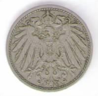 GERMANIA 10 PFENNIG 1908 - 10 Pfennig