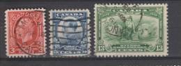 Yvert 158 / 160 Oblitérés - Used Stamps