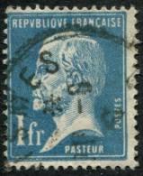 Pays : 189,03 (France : 3e République)  Yvert Et Tellier N° :  179 (o) - 1922-26 Pasteur