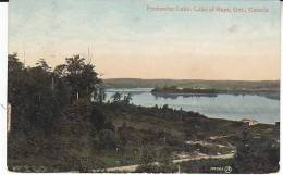 1901 PENINSULAR LAKE CANADA POSTCARD With SPARROW LAKE ONTARIO Pmk  EVII Stamps Cover  Bird Birds - Ontario