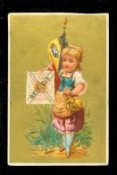 Chromo ( 3540 )  J.Roosenboom - Dewaele  Magasin Brosses éponges Anvers Antwerpen - Timbre Postzegel Belgique - Cromo