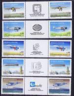 Argentina: 1985, MI 1731-35 Exposition Argentina 85  MNH/** - Argentinië