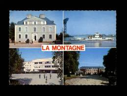 44 - LA MONTAGNE - 5383 - Multi Vues - Le C.E.G. - Le Bac - La Mairie - Château - La Montagne