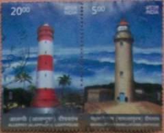 India 2012 Lighthouse 2v Used