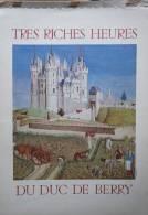 Calendrier D'art - Tres Riches Heures Du Duc De Berry - RARE - Altre Collezioni