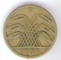 GERMANIA 5  REICHSPFENNIG 1925 - [ 3] 1918-1933 : Repubblica Di Weimar
