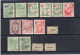 Petit Lot De Timbres Fiscaux (à Voir) - Stamps