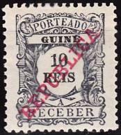 GUINÉ-1911,  Tipo De 1904, Com Sobrecarga « REPUBLICA »  10 R.  * MH  Afinsa  Nº 12 - Portuguese Guinea