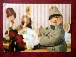 The Good Soldier Shvejk - Puppet Film - Postcard Sent To Estonian SSR - Czechoslovakia - 1982 ? - Used - Czech Republic