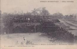 ¤¤  -  61  -  CÔTE D'IVOIRE  -  ABIDJEAN  -  Vue Du Plateau - Vue Sur La Gare , Chemin De Fer -  ¤¤ - Côte-d'Ivoire