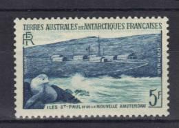TAAF N° 5 ** Avec Publicité Au Verso (non Répertorié) - Unused Stamps
