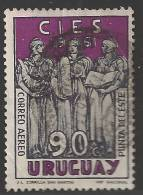 1961 90c Airmail Conference, Used - Uruguay