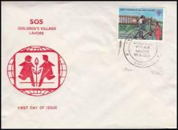 "Pakistan 1979, FDC Cover ""SOS Childrens Village"" - Pakistan"