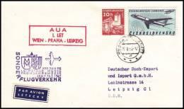 Czechoslovakia 1965 , Airmail Cover Praha - Leipzig - Airmail