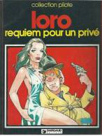 "ABEL DOPEULAPEUL "" REQUIEM POUR UN PRIVE "" - LORO  -  E.O - MARS 1983 DARGAUD - Ohne Zuordnung"