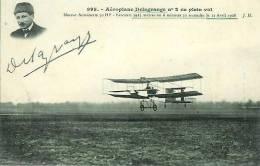 Aéroplane DELAGRANGE N°2 En Plein Vol - Avions