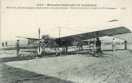 Le Monoplan ANTOINETTE IV Transformé Muni D'un Patin De Lancement - Avions