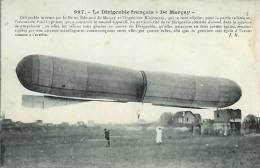 """Le Dirigeable Français """"DE MARCAY"""" - Transporte"""