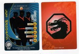 UNE IMAGE DES AVENTURES DE JACKIE CHAN L ARMEE DES OMBRES Ils Surgissent De L Obscurité Rapide Silencieux TM 2003 API - Trading Cards