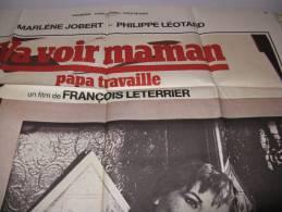 AFFICHE  Cinéma ,va Voir Maman Papa Travaille - Posters