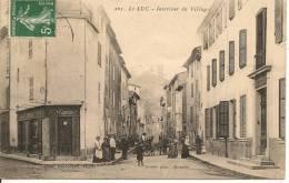 LE LUC - INTERIEUR DU VILLAGE - Le Luc