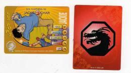UNE IMAGE DES AVENTURES DE JACKIE CHAN JACKIE Et EL TORO N Ont Pas Toujours été Alliés TM 2003 API - Trading Cards