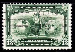 Canada (Scott No. 194 - Britania) (o) - Used Stamps