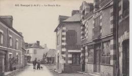 ¤¤   660  - DOMAGNE - La Grande Rue  - Hôtel Fréreux     ¤¤ - France